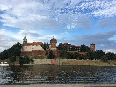 夏のポーランド一人旅 2019/6/30~7/10★⑧ヴィエリチカ岩塩抗&ヴァヴェル城&夜の街歩き