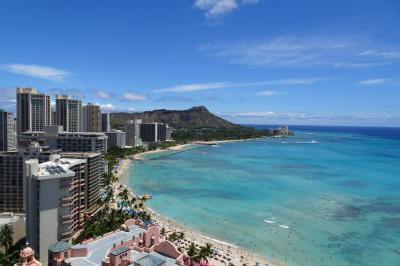 久びりのハワイに恋して 子供達と3人旅