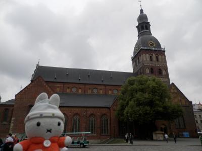 グーちゃん、ラトビアへ行く!(リーガ旧市街の石畳は摺り足で!?編)