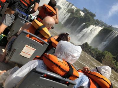 イグアスの滝アルゼンチン側散策、ボートツアーの想い出
