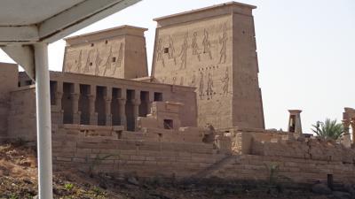 エジプトに行ってみたかったー⑧ 旅5日目 クルーズ最終日~午前中イシス神殿へ