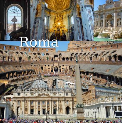 トスカーナ街巡り+ローマ 1  ローマ編、Casa Mariaで夕食、ジョベルティ アート ホテル (Gioberti Art Hotel)