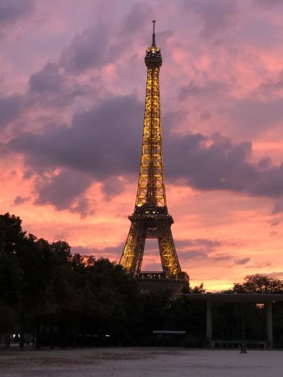 パリ母娘旅行①