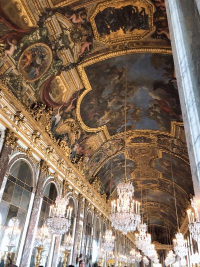 ユーロスターで行くパリ!膝の痛みをこらえて、本場のクロワッサン、ベルサイユ宮殿、パリで日本食の旅