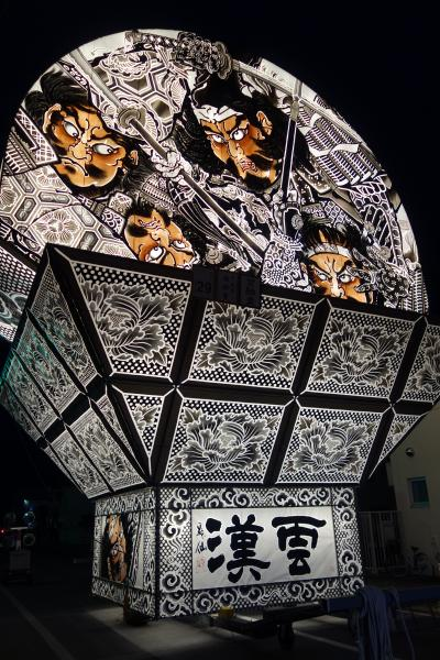 熱気が伝わってくる 平川ねぷた「世界一大きな扇ねぷた」
