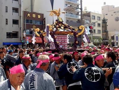 2019年5月 東京散策28 三社祭&どぜう