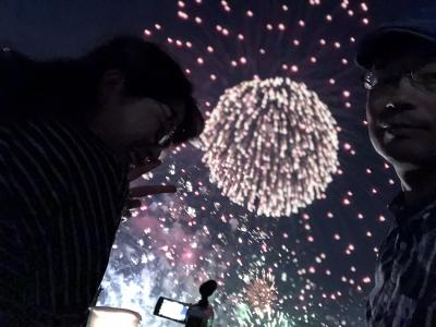 2019なにわ淀川花火大会行ってきました。主に行き帰り