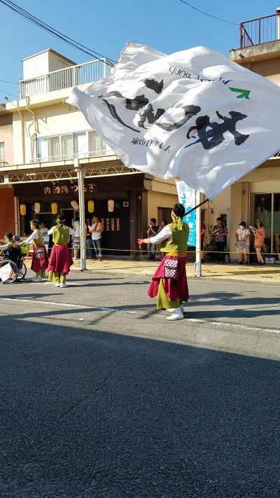 夏祭りですよ。。。鈴鹿市 よさこい祭り。
