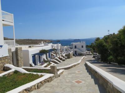 アテネ&ミコノス島&サントリーニ島 3日目 ミコノス ランチ~ホテル