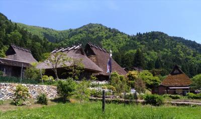 美山の「かやぶきの里」を見学