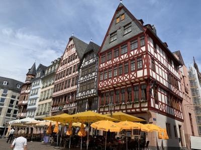 素敵なフランクフルトの街並み。