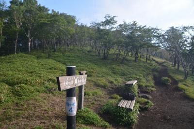 バイクでハイキング 赤城山 駒ケ岳から黒桧山へ登りました。