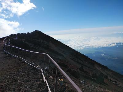 富士登山:今回が最後か。下山偏