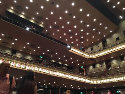 猛暑の銀座で劇場のはしご