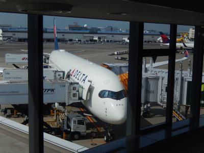 DL A350 エコノミー 成田⇒デトロイト 搭乗記