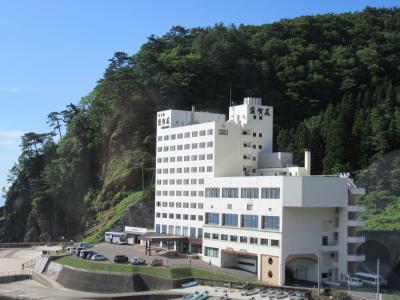 三陸海岸「ホテル羅賀荘」に泊まる