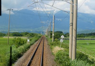 2019.7鶴岡・酒田旅行10-普通列車551Mで酒田から秋田まで1 仁賀保まで