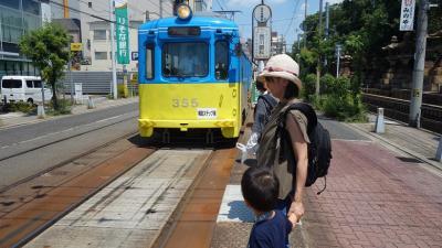 チンチン電車で小旅行