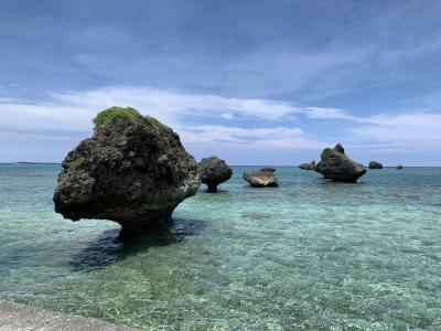 週末土日でレンタカー借りて宮古諸島最後の大神島へ!そして初めての伊良部島ステイ♪