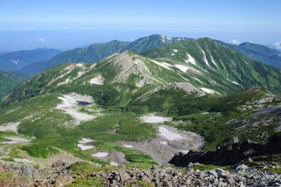 バスで行く白馬岳 1泊2日のテント泊登山(栂池ルート)