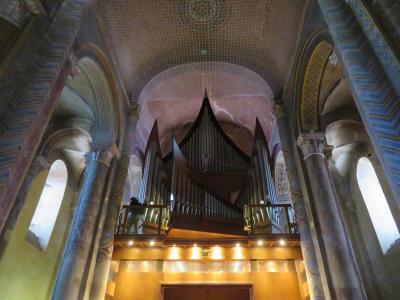 ポワティエ♪ノートルダム・ラ・グラン教会で、パイプオルガンを弾いてくれた♪2019年5月フランス ロワール地域他8泊10日(個人旅行)160