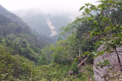 鳳凰三山 地蔵ヶ岳(2,750m) 観音ヶ岳(2,840.7m) 薬師ヶ岳(2,780m)  第一日