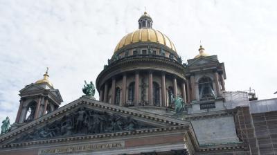 ロシア サンクトペテルブルク① ペトロハヴロフスク要塞 ・イサク聖堂