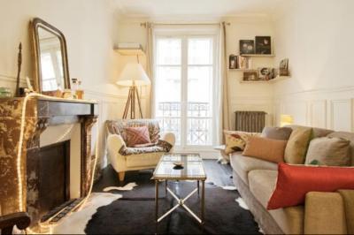 住むように滞在する初めてのパリ1人旅8泊10日① 1&2日目の朝 ~機内からパリ到着とairbnb~