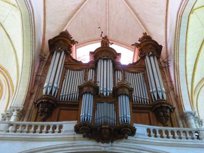 ポアティエ♪サン・ピエール大聖堂♪フランスで最も美しいパイプオルガン♪2019年5月フランス ロワール地域他8泊10日(個人旅行)164
