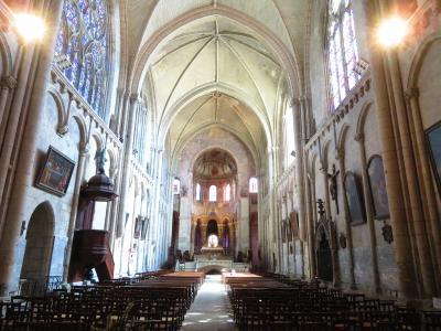 ポアティエ♪ゴシックとロマネスクが混在するサント・ラドゴンド教会に来た♪2019年5月フランス ロワール地域他8泊10日(個人旅行)165