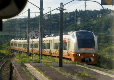 2019.7鶴岡・酒田旅行11終-普通列車551Mで酒田から秋田まで2 帰京