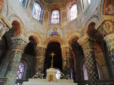 ポアティエ♪サント・ラドゴンド教会のフレスコ画♪#日本人が見たフランス♪2019年5月フランス ロワール地域他8泊10日(個人旅行)166