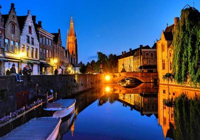 水辺の美しい景色を求めてオランダ&ベルギーへ <15> 美しい水辺の景色に魅せられた古都ブルージュ♪(後編)