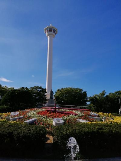 3泊4日釜山一人旅1日目その3:(龍頭山公園/釜山タワーほか)