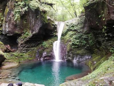 塩原渓谷&幻の滝と言われる「おしらじの滝」を散策
