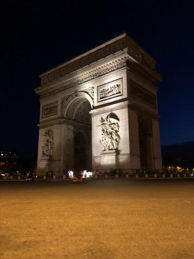 パリ母娘旅行③イルミネーションツアー