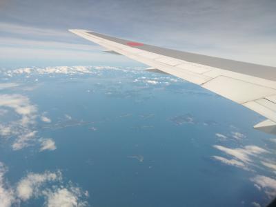福岡→羽田 空から日本を見てみよう!