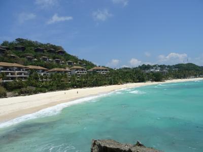 JAL&フィリピン航空で行くボラカイ島・シャングリラ、お盆は強風でした