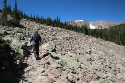 2019年 コロラド州②ロッキーマウンテン国立公園1日目 Bear LakeからCub Lake Trail