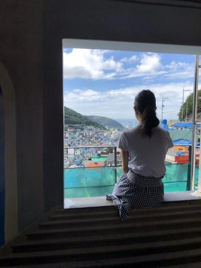 初のファーストクラスラウンジ訪問がメインの夏旅♪甘川文化村・太宗台 ・五六島スカイウォーク