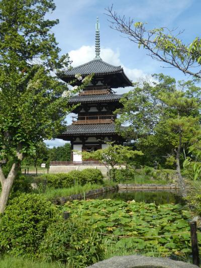 真夏の奈良 1日目 斑鳩の里