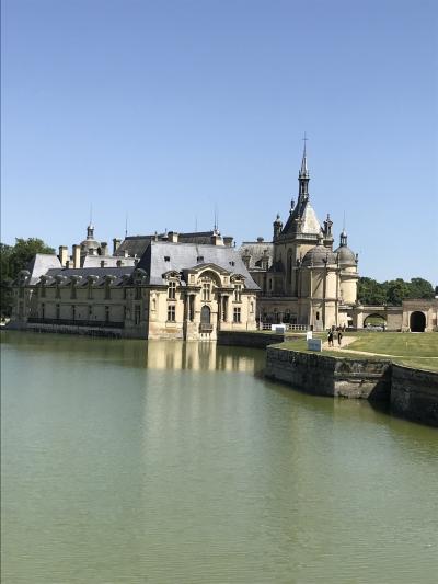 一人旅第3弾 花いっぱいのフランスへ 7 シャンティイ城