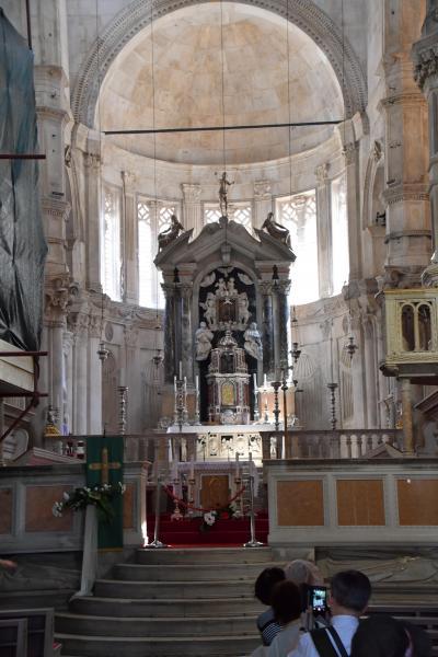すんごく良かった~クロアチア&スロベニア #4 小さな街シベニクにある世界遺産の大聖堂
