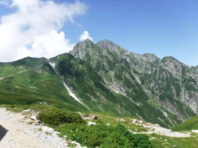 2019年8月劔岳登頂・立山縦走・高岡・1、2日目(劔沢キャンプ場まで)