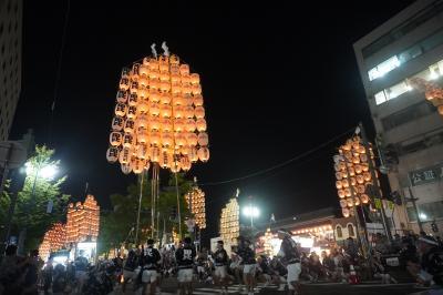 竿燈祭り最終日('19/08秋田・新潟No2)