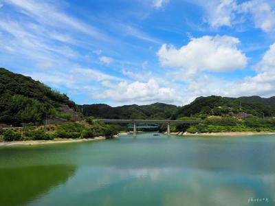 【軽キャン旅】魚と海とダムと田んぼと…