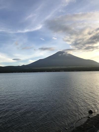 2019夏休みの子連れ山中湖