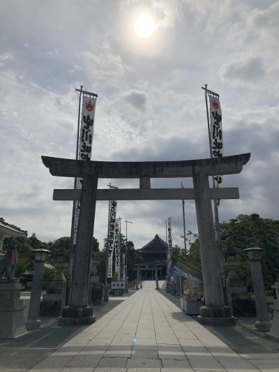 いいね!夏旅最終日【豊川・八百富神社】