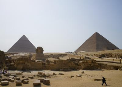 2019.8 エジプト8日間【4】世界遺産・メンフィスとその墓地遺跡(3)ギザの三大ピラミッド