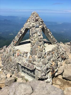 2019年08月 日本百名山65座目となる岩木山(いわきさん、1,625m)を登りました。
